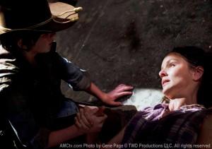 The Walking Dead, Lori Dies on the walking dead
